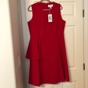 Authentic Couteur Hugo Boss Pink cocktail dressNWT